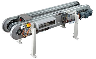 Accumlating Pallet Conveyor