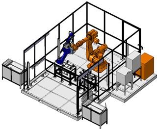 机器人铆接系统