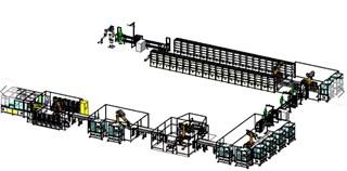 装配自动化—电池装配生产线模型