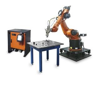 WYFP三維機器人激光焊接系統