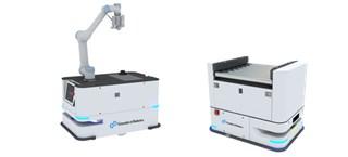 机器人应用解决方案:辊筒对接+机械臂协作
