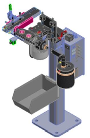 Electrode Cap Changer