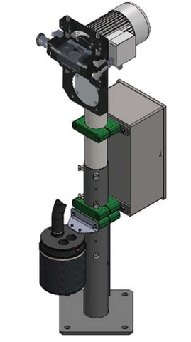 Lutz Stationary electrode tip dressers