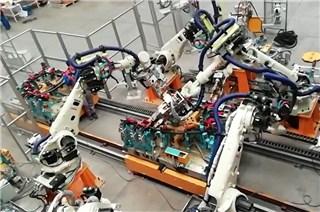 汽车白车身焊装生产线