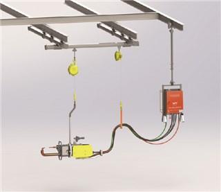 一体化悬挂式点焊机成套装备