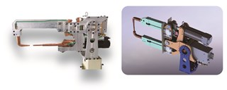 机器人电阻焊钳