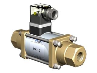 COAX Ultra vacuum solenoid valve