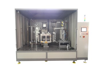 Auto-brazing machine for AL.Coilstube