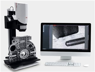 Leica 3D ultra depth of field microscope